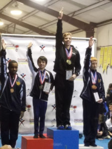 Virtual High School Student Zachary English Winning Gold Medal